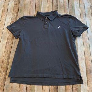 Express men's short sleeved polo shirt